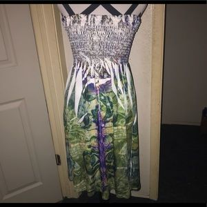 DNLA Strapless Dress